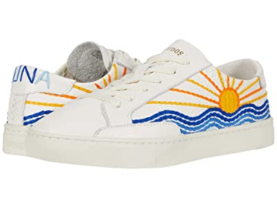 Soludos Sunrise Sunset Sneaker (White) Women
