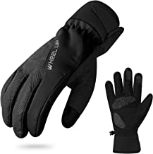 Hikenture Winter Bike Gloves, Thermal Waterproof Ski Gloves Snow Gloves, Windproof Warm Cycling Gloves for Men and Women, ...