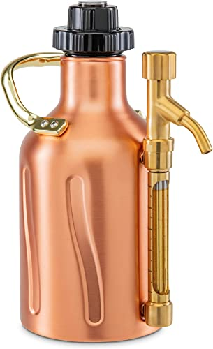 2021 Ivation Carbonated Growler, discount Pressurized Stainless popular Steel Beer Keg & Dispenser, Double-Walled Insulated, Pressure Control Cap, Tap Pour Spout, [2] CO2 Cartridges, Portable Handle, (64oz.) outlet online sale