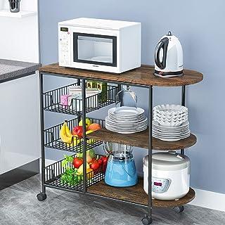 Amazon Com Kitchen Islands Carts Under 100 Kitchen Islands Carts Kitchen Dinin Home Kitchen