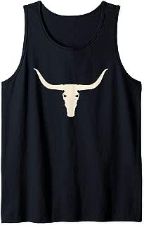Longhorn Skull Lover Bull Horn Tank Top