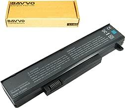 Bavvo Battery Compatible with Gateway m-6333 m-6881 m-6882h m-6883u m-6888u p-7812jfx p6302 t-1603m, Black