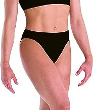 Motionwear Gymnastics Underwears Brief, Black, Large Child
