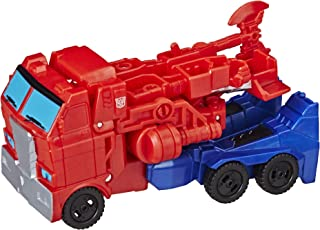 Transformers E3645AS20 Cyberverse Action Attackers: 1-Step Changer Optimus Prime Action Figure Toy