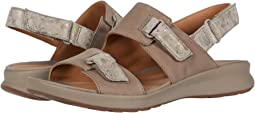 Taupe Nubuck/Leather Combi