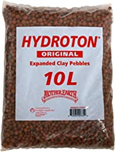 Mother Earth HGC714112 Hydroton Original Expanded Clay Pebbles, 10 Liter, Terra Cotta