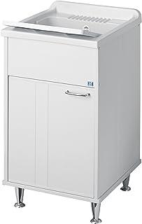 comprar comparacion Bormioli A Mueble Lavabo de Resina para exteriores, blanco