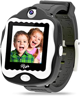 ISEE Durable Kids smartwatch, Smart Watch Touchscreen Game, Digital Watch Camera Learn Clock Alarm for Boys Girls Children...