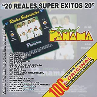 Tropical Panama 20 REALES SUPER EXITOS Disa-133