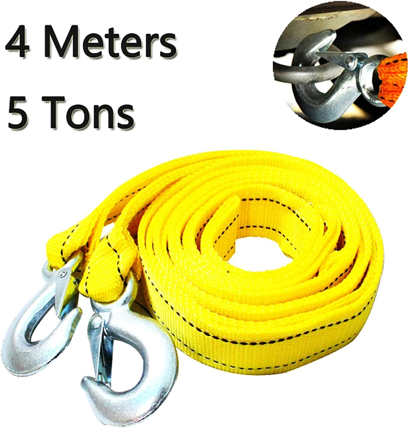 MING-BIN Winch Rope Towing Rare Winches 4M Selling Heavy Ton C 5 Car Tow Duty