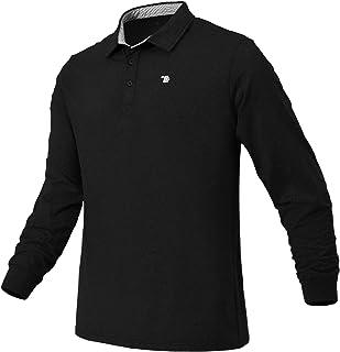 Rdruko Men's Golf Shirts Quick Dry Short Sleeve Polo Athletic Casual T-Shirt