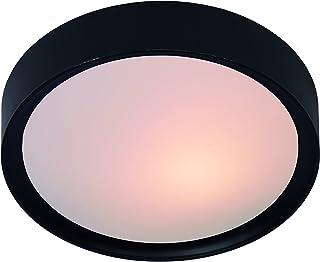 Lucide LEX - Plafonnier - Ø 33 cm - Noir