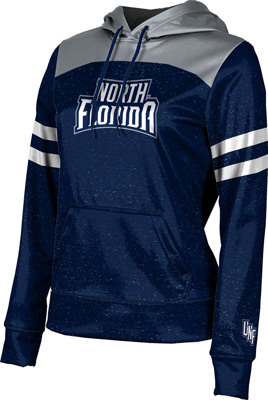 University of North Florida Girls' Pullover Hoodie, School Spirit Sweatshirt (Game Time)