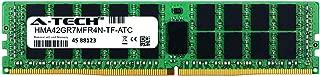 A-Tech 16GB Replacement for Hynix HMA42GR7MFR4N-TF - DDR4 2133MHz PC4-17000 ECC Registered RDIMM 2rx4 1.2v - Single Server Memory Ram Stick (HMA42GR7MFR4N-TF-ATC)