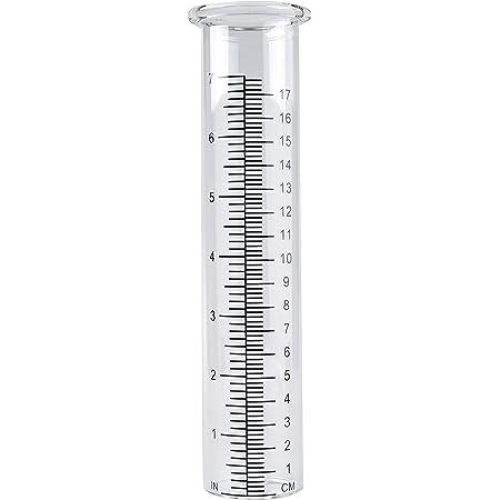 TBWHL Lot de 2 tubes de rechange pour jauge de pluie 17,8 cm
