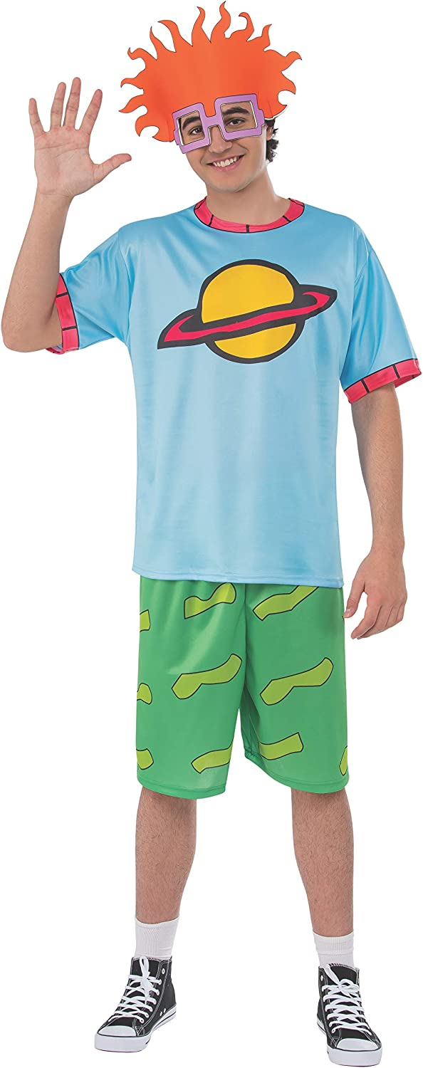 Rubie's Mens Splat Rugrats Max 68% OFF Ranking TOP16 Chuckie Costume Finster Top Head and