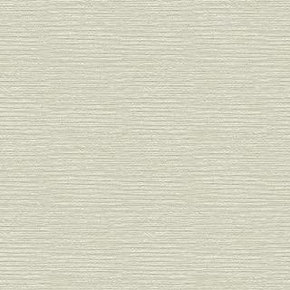 York Wallcoverings Y6150903 Glam Horizontal Texture Wallpaper, Cream, Beige