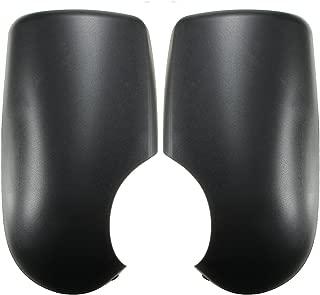 Cubierta de espejo cromada 2 piezas acero inoxidable para TRANSIT MK6 MK7 de 2000 a 2014