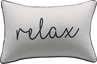 YugTex Pillowcases Relax Pillow Cover, Bedroom Pillows, Housewarming Gift, Farmhouse Pillows, Throw Pillows, Word Pillows, New Home Gift, Gift Her (12