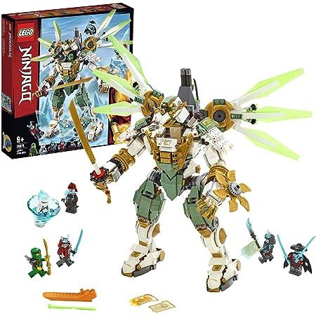 Lego Ninjago Le Robot Titan De Lloyd Jeu Pour Enfant 9 Ans Et Plus Briques De Construction Garcon Et Fille 876 Pieces 70676 Amazon Fr Jeux Et Jouets