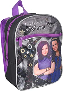 Disney Descendants 10 Mini Backpack - Black/Purple