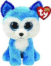 Ty UK Ltd 36310 Prince Husky – Beanie Boos Plush Toy, Multicoloured, 15cm