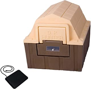ASL Solutions Insulated DP Hunter Dog House with Floor Heater and Fan (23.5