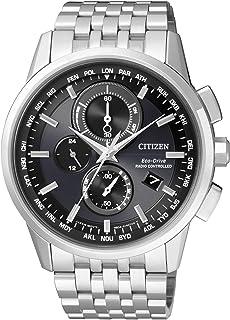 CITIZEN Citizen 西铁城 男士 - 手表收音机控制 电波表 计时表 石英 不锈钢 at8110 – 61EAT8110-61E