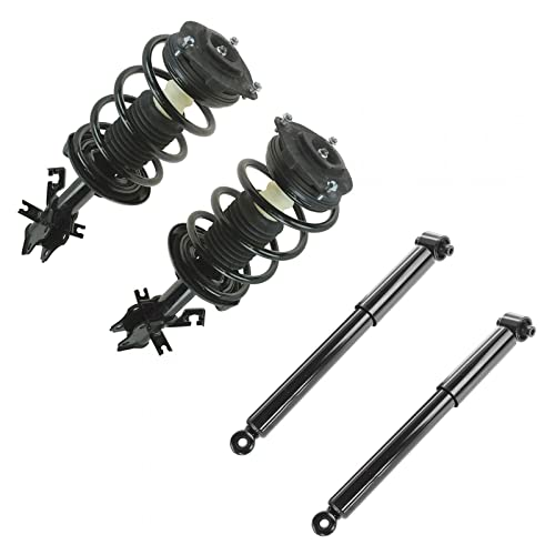 Shock & Strut Assembly Set of 4 LH & RH Front & Rear for Nissan Sentra