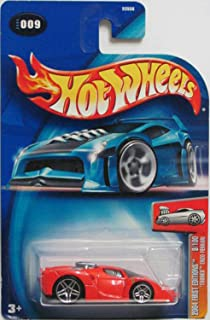 Hot Wheels 2004 First Editions: TOONED ENZO FERRARI 2004 Collector No. 009 (9/100)