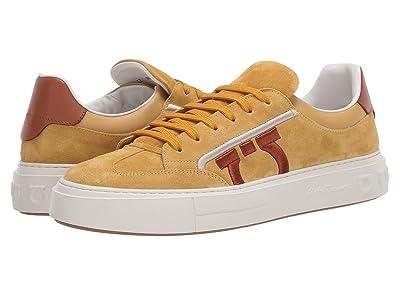 Salvatore Ferragamo Borg 12 Sneaker (Straw) Men