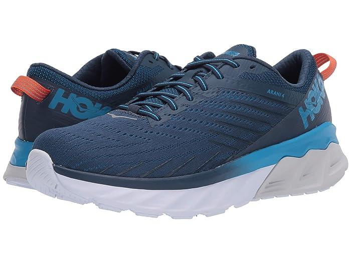 Hoka One One  Arahi 4 (Majolica Blue/Dresden Blue) Mens Shoes