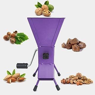 YARN STORY Hand Crank Nutcracker Tool for Hazelnuts. All Steel Nut Cracker Machine - Nutcracker Tool (Purple)
