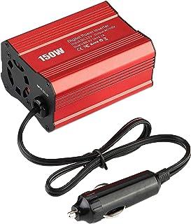 Homyl 150W de Potência Do Inversor DC 12V a AC Car Inverter com 1A 2.0A Dual USB Adaptador para Carro