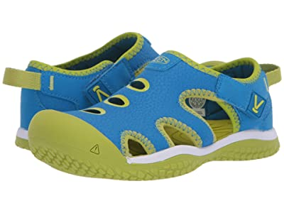 Keen Kids Stingray (Toddler/Little Kid) (Brilliant Blue/Chartreuse) Kid