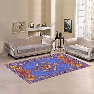 Unique Debora Custom Multicolor Rectangle Area Rug Floor Rug Carpets Home Decorate Floor with Magic Carpet
