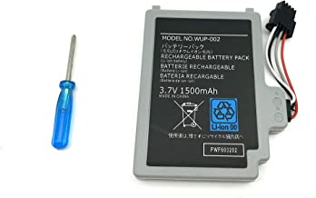 HongFeng WUP-002 Replacement Battery for Nintendo Wii U Gamepad Controller WUP-012 WUP-010 Wii U