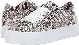 Big Satin Lace Snake Sneaker
