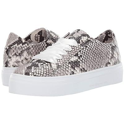Kennel & Schmenger Big Satin Lace Snake Sneaker (Grey/White Snake Print) Women