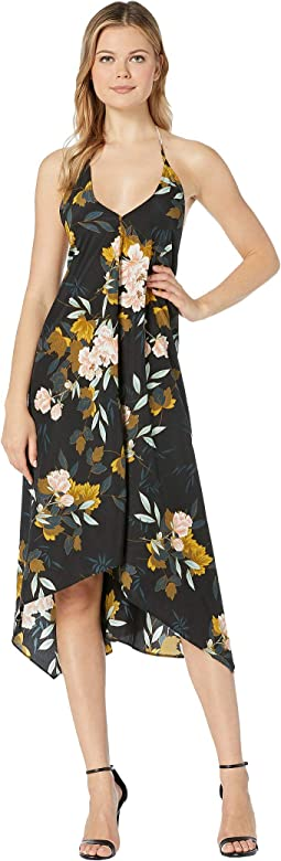 50e51bdaa2914a Ivanka trump social floral midi full skirt dress | Shipped Free at ...