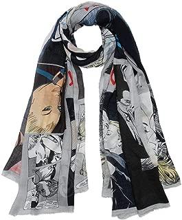 Luxury Fashion | Faliero Sarti Womens I20226368440 Grey Scarf | Fall Winter 19