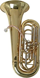 Roy Benson TB-312C - Tuba en Do TB-312C, 4 pistones y funda