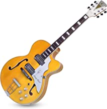 """Kay Reissue 1957 Barney Kessel """"Artist"""" Electric Guitar Limited Production Signature Edition & Case - Blonde (K6700VB)"""