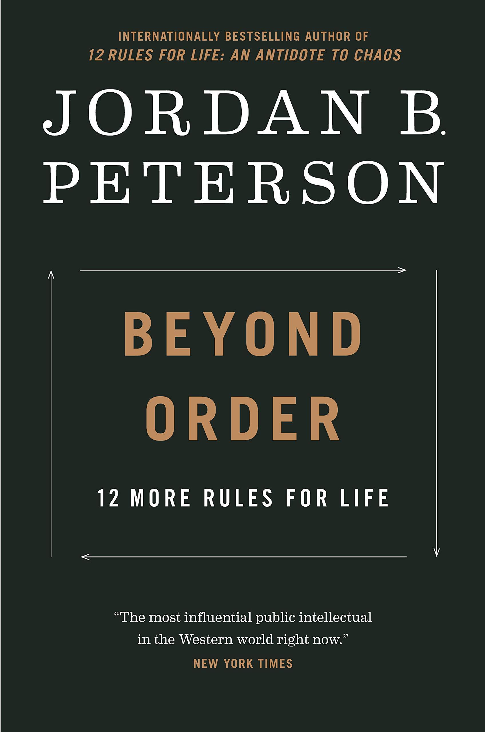 Cover image of Beyond Order by Jordan B. Peterson