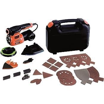 BLACK+DECKER KA280LK-QS - Multilijadora 220W 4 en 1 AutoSelect, velocidad variable, con accesorios para persianas, incluye 22 accesorios y maletín: Amazon.es: Bricolaje y herramientas