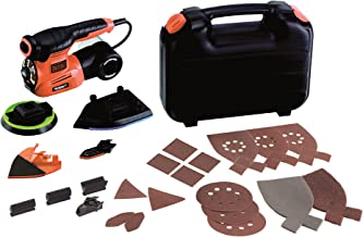 Black + Decker KA280LK-QS KA280LK-QS-Multilijadora AutoSelect 4 en 1 Con 22 Accesorios, 220 W