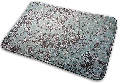 Non-Slip Doormats Marbled Paper Entrance Rug Indoor/Outdoor Carpet Absorbs Moisture Washable Dirt Trapper Mats