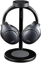Swans - Auriculares HiVi AW85 con cancelación de ruido - Auriculares inalámbricos Bluetooth sobre la oreja con micrófono - Modo Transparencia - Primer auricular Soporte de carga inalámbrica