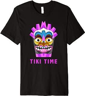 Funny Tiki Bar Tiki Time Hawaiian T-Shirt