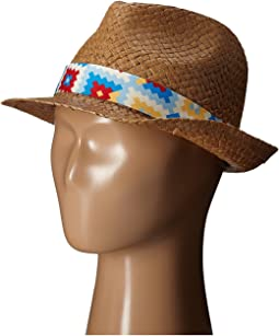 San Diego Hat Company Kids Fedora with Novelty Band (Little Kids/Big Kids)